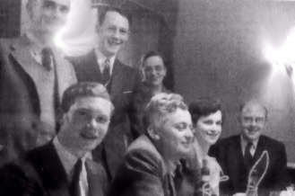 Dr.R.D.Connor, Thomas W.B. (Tom) Kibble, Dr. Marianne A. S. Ross. Ivor Curran, Dr.Arthur Brown, Mary Y.Smith, Dr.D.L.Pursey